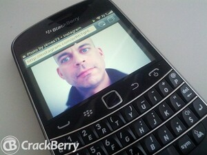 The BlackBerry browser will now let us view Instagram photos - at last!