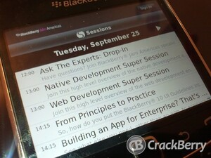 BlackBerry Jam Americas 2012 Mobile Guide now available to download for BlackBerry smartphones