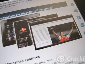 S4BB launch 24 new magazines for the BlackBerry PlayBook