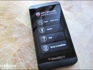 Protect your BlackBerry and PC from evil with Max Mobile Security for BlackBerry 10