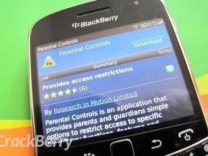 RIM release Parental Controls app bringing the feature to all OS versions