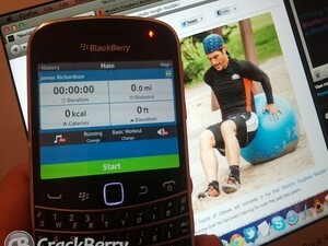 World's Toughest Mudder and a BlackBerry!