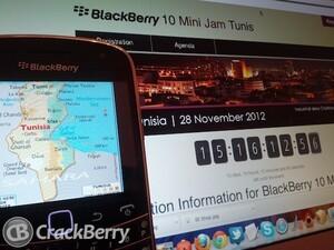 BlackBerry 10 Mini Jam is coming to Tunisia - Register now!