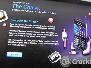 People of the UK - Play 'The Chase' online game to be in with a chance of winning a BlackBerry Curve 9320