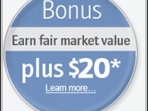 New BlackBerry Trade Up Program with a $20 bonus