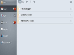 Conquer that to-do list on your BlackBerry PlayBook with Conqu