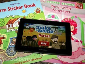 Make a Scene apps by Innivo bring children's sticker books to life