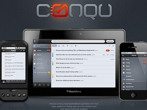 Conqu for the BlackBerry PlayBook now adds ConquSync & desktop version in beta