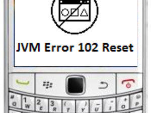 JVM Error 102 on your BlackBerry? Try this solution BEFORE wiping!
