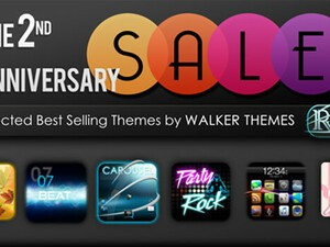 Walker Themes celebrate their 2 year anniversary with a sale on select best-selling themes!