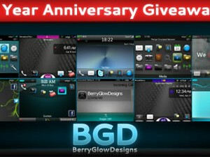 BerryGlowDesigns celebrate their 1 Year Anniversary with free themes!