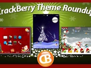 BlackBerry theme roundup - Christmas Edition! 30 copies of Meri Kuri up for grabs!