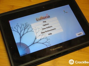 Test your patience and combat skills with Eufloria for the BlackBerry PlayBook