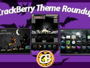 BlackBerry theme roundup Halloween Edition – 20 copies of  Witch at Halloween night up for grabs!
