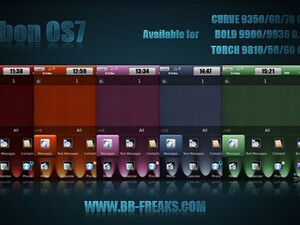 Carbon OS7 by BB-Freaks - the first theme for OS 7 Bold, Curve, and Torch!