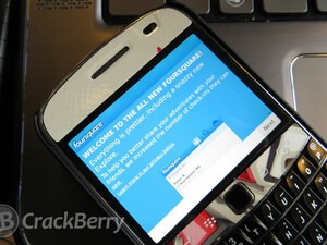 Foursquare update brings new first for BlackBerry - Logged-Out Explore feature