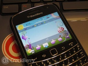 Take your BlackBerry on a magical journey with Lovely Fairy Tale theme by BB-Freaks
