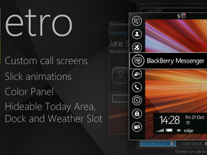 Contest: MetroUI theme by Bbt Designs  - An evolution of the BlackBerry OS