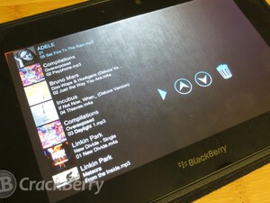 Instantly shuffle your music library with Next Songs for the BlackBerry PlayBook
