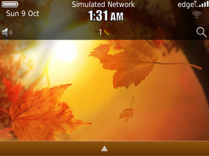 Contest: Animated Fall Autumn Glow theme by BBMagic - 25 copies to be won!