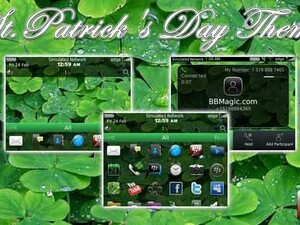 Celebrate St. Patrick's Day with a shamrock theme by BBMagic!