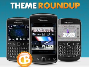 BlackBerry theme roundup - January 1, 2013