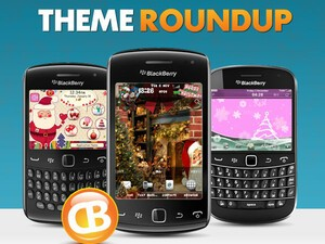 BlackBerry theme roundup for December 4, 2012 - Christmas Edition!