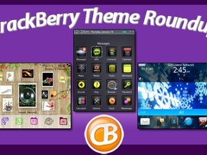 BlackBerry theme roundup – 50 copies of Animated Winter Glow by BBMagic up for grabs!