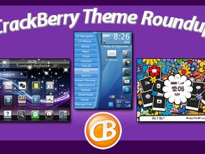 BlackBerry theme roundup - 50 copies of Happy Flowers to be won!