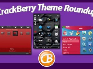BlackBerry theme roundup - Win a free copy of Crazy Colors Abstract by BB-Freaks!