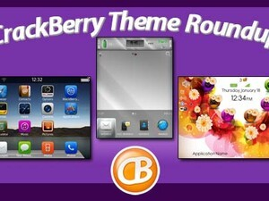 BlackBerry theme roundup – 50 copies of Glass Silver OS7 Theme by BB-Freaks up for grabs!