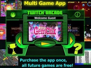 Munsie releases Twitch Arcade – a multi game app for the BlackBerry PlayBook