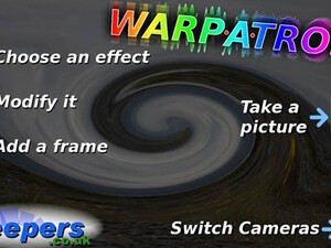 Add special effects to your snapshots with Warp-a-tron for the BlackBerry PlayBook
