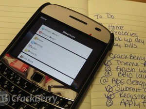 Need a GTD organizer to sort out your to-dos? Check out Wise Tasks for BlackBerry smartphones