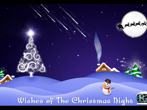 Wishes of Christmas Night by Walker Themes - 30 copies to be won!