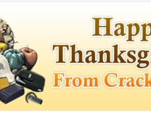 Happy Thanksgiving from CrackBerry.com!