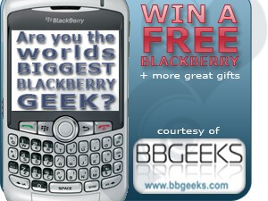 BBGeeks BlackBerry Geek Contest