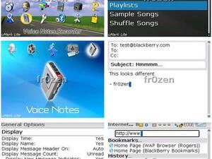 Sneak Peek: BlackBerry OS version 4.3 Screen Captures