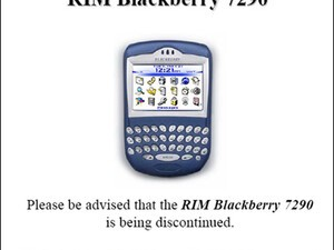 Rogers Says Farewell to the BlackBerry 7290