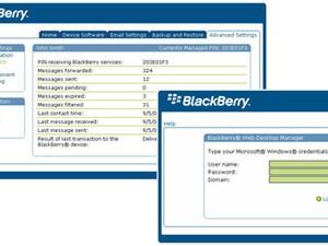 RIM Releases BlackBerry Web Desktop Manager