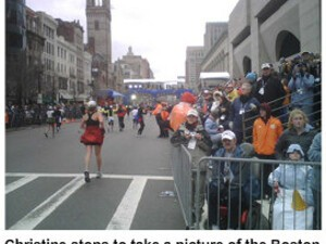 BlackBerry Pearl Runs the Boston Marathon!