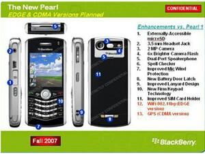 Slides Leaked! BlackBerry 8820, 8310, 8320, Pearl 2, OS 4.3!
