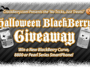 And the Winners of CrackBerry.com's NO TRICKS, JUST TREATS Halloween BlackBerry Giveaway are....