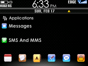 Real iBerry Blocks Custom L Theme