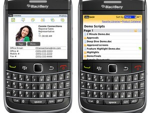New BlackBerry Apps for Lotus Quickr and Connections Take Enterprise Collaboration and Social Networking to New Level