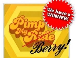 Pimp My Berry Winner Announcement