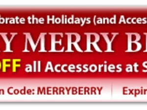 ShopCrackBerry.com Very Merry Berry Holiday Sale!