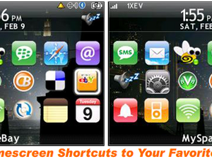 BlackBerry Web Shortcuts Hands On