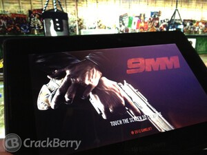 Clean the streets of drug lords in 9mm HD for the BlackBerry PlayBook