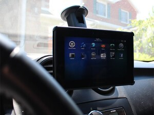 Take your tablet in the car with the iGrip windshield mount for the BlackBerry PlayBook